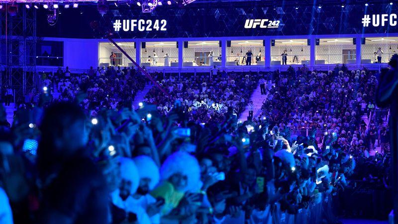 Фанаты UFC