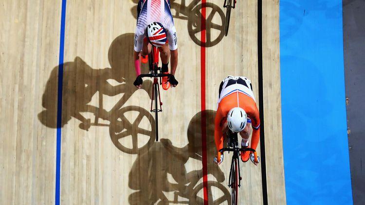 Afbeeldingsresultaat voor teamsprint wielrennen dames