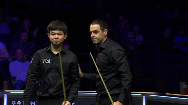 Ronnie O'Sullivan dispatches spectacular red