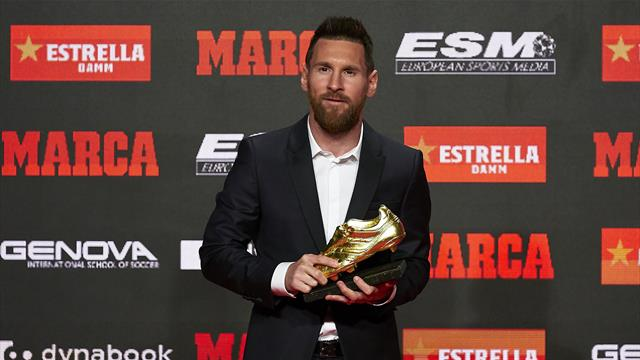 Leo Messi vince la sesta Scarpa d'Oro: alle sue spalle Mbappé e Quagliarella