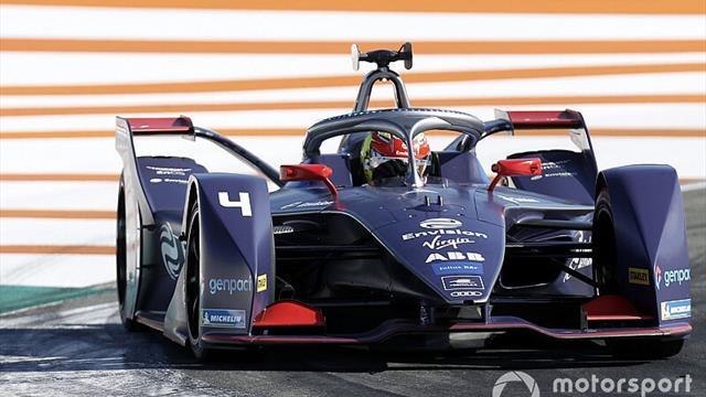 Frijns fastest, Vandoorne 'wins' simulated Valencia race