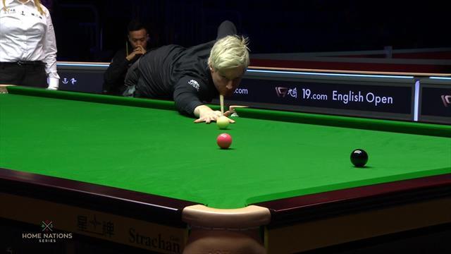Robertson takes control with classy century break
