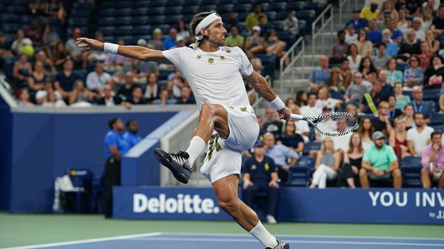 ATP Amberes: Wawrinka deja fuera de cuartos a Feliciano en el tie-break del tercer set
