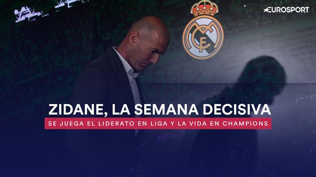 Una semana de puerta grande o enfermería para Zidane