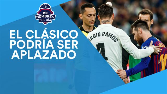 El Clásico, Mané, Tebas, Messi y Ronaldinho, los nombres del día