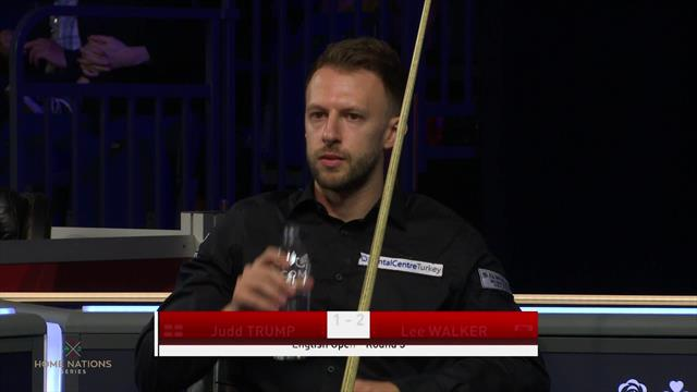 Judd Trump produces total clearance to cut the arrears
