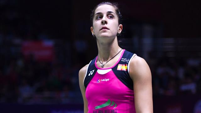 """Carolina Marín, tras pasar a cuartos de Dinamarca: """"Ha sido el peor partido de mi vida"""""""