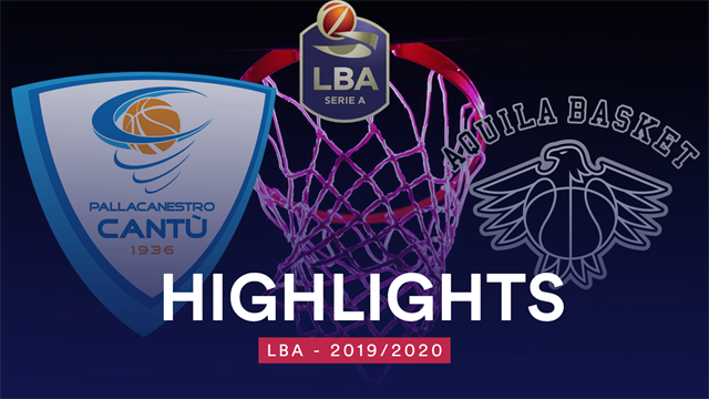 Highlights: Acqua S. Bernardo Cantù-Dolomiti Energia Trentino 78-72