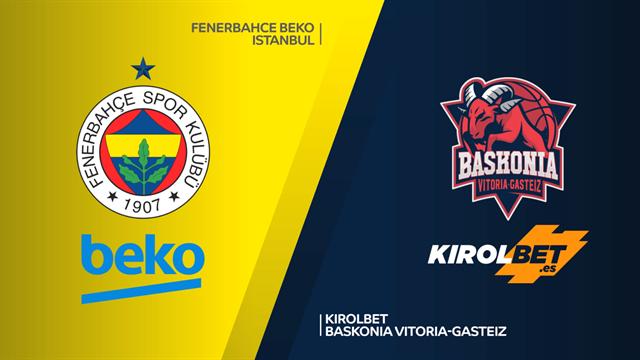 Highlights: Fenerbahce Beko - KIROLBET Baskonia 87-80