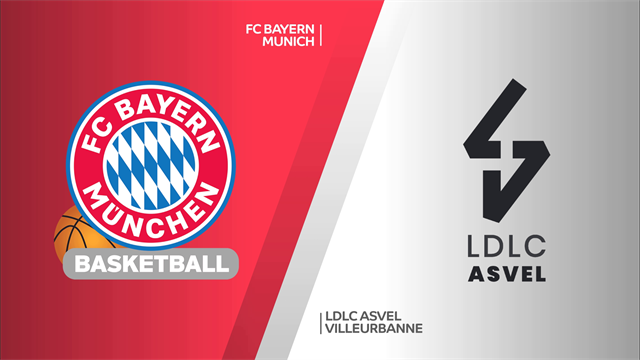 Highlights: FC Bayern Monaco-LDLC Asvel Villeurbanne 104-63