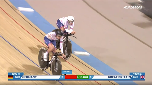Watch Kenny win 13th Euro gold as Britain triumph in womens team pursuit