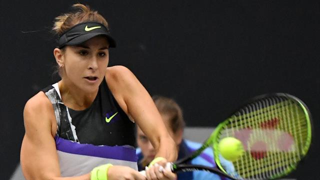 WTA Moscou: Belinda Bencic à seulement une victoire du Masters