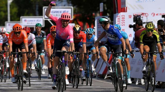Tour de Guangxi (2ª etapa): McLay arrebata el triunfo a Ackermann, quien se coloca líder