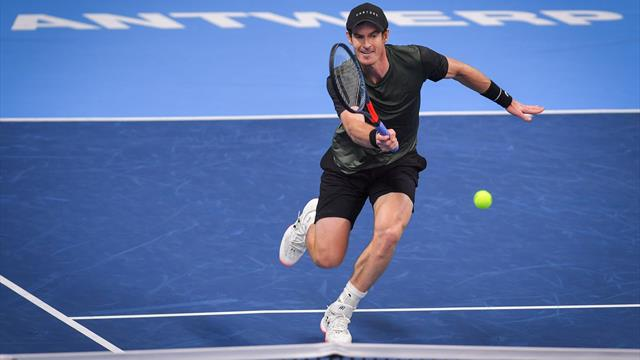 ATP Amberes (semifinales),: Andy Murray-Ugo Humbert: Un gigante está de vuelta