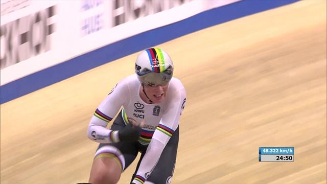 Kirsten Wild doubles up with Omnium gold, Laura Kenny takes silver