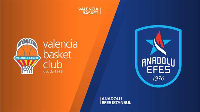 Highlights: Valencia Basket-Anadolu Efes Istanbul 78-83