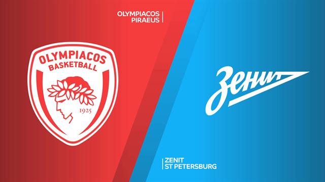 Highlights: Olympiacos Pireo - Zenit San Pietroburgo 68-77 d1ts