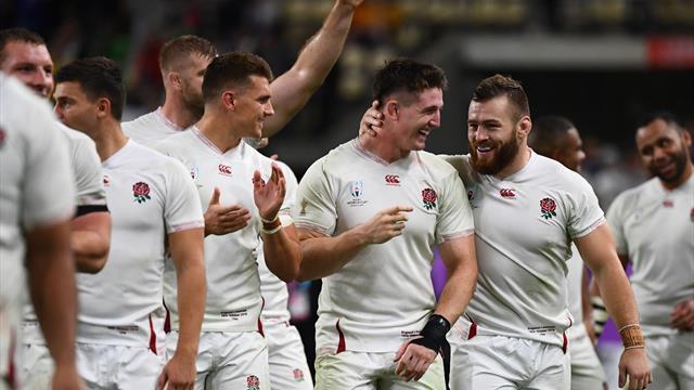 Dominant England crush Australia to reach World Cup semis