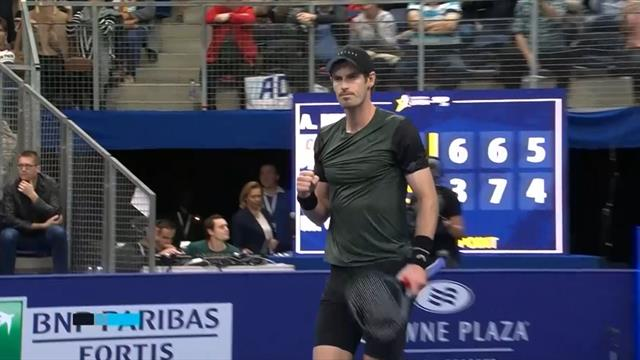 Highlights: See how Murray reached first semi-final in over two years