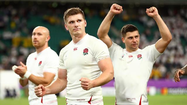 Farrell celebrates England win: We know we can be dangerous