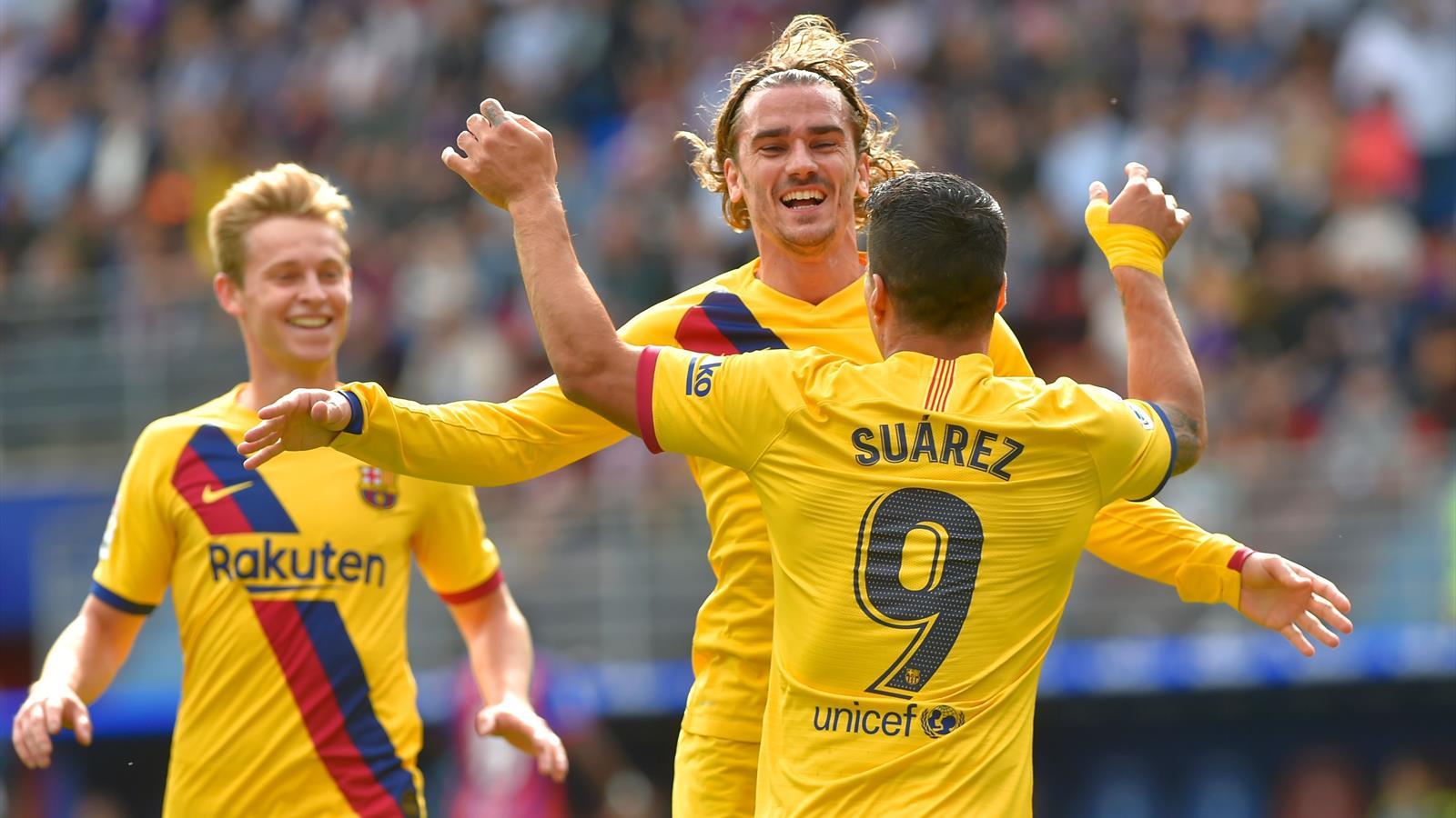 Il Barcellona cala il tris sul campo dell'Eibar: 0-3 siglato Griezmann ...