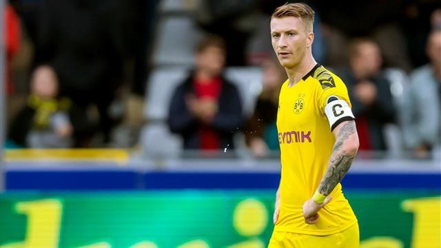 Vince il Dortmund che ora aspetta l'Inter: battuto il Moenchengladbach 1-0 con gol di Reus
