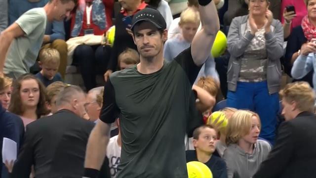 Highlights: Murray beats Humbert in three to reach Antwerp final