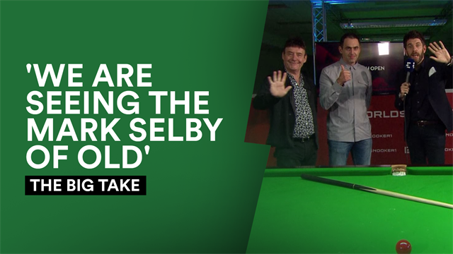 The Big Take: We're seeing the Selby of old after 'match of the season' win over Allen
