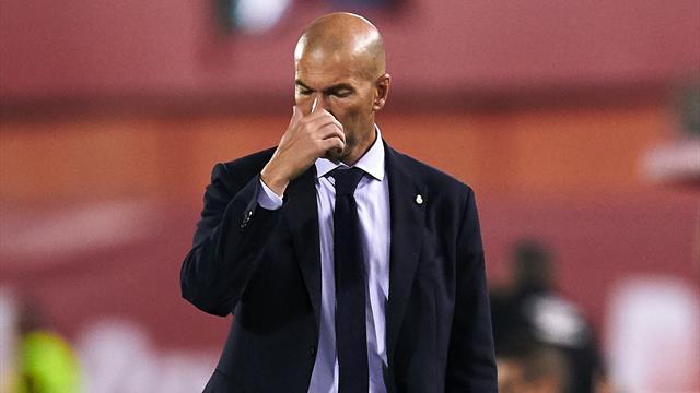 Zidane left fuming after Real Madrid lose at Mallorca