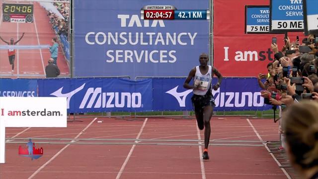 Kenya first and third as Vincent Kipchumba triumphs in Amsterdam Marathon