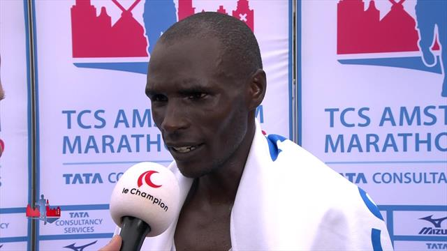 I was prepared... and really strong! Kipchumba felt confident ahead of Amsterdam marathon win