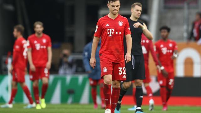 Bayern, egalată în ultimul minut de Augsburg! Sule s-a accidentat și va lipsi până în 2020