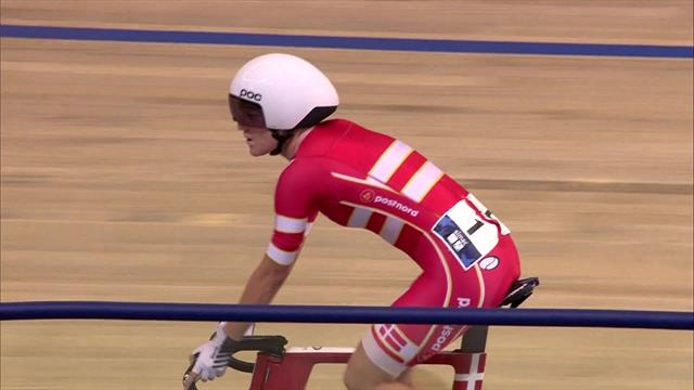 Denmark hold off Kenny and Archibald to win Women's Madison