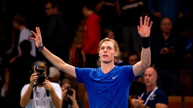 ATP Estocolmo, Shapovalov-Krajinovic: Estrenando palmarés a lo grande (6-4 y 6-4)