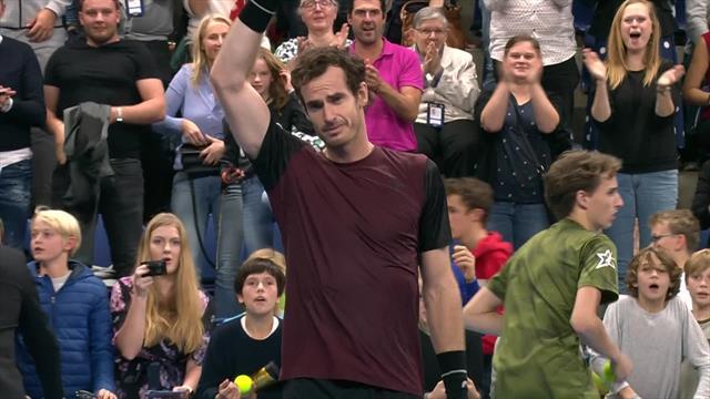 960 jours qu'il attendait ça : Andy Murray en a pleuré de joie