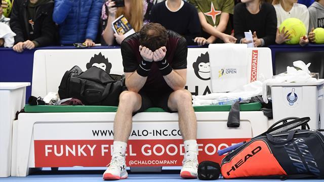 Le dolci lacrime di Andy Murray: 282 giorni dopo il suo 'ritiro', batte Wawrinka e vince ad Anversa