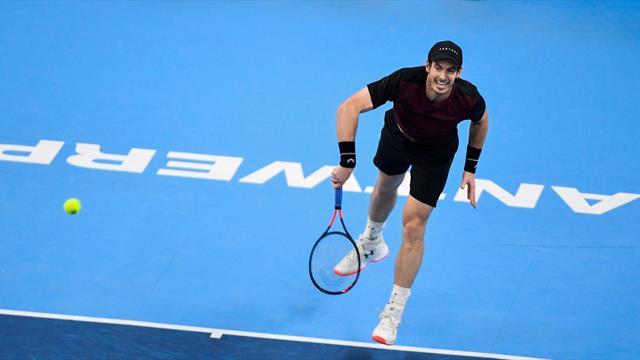 Une belle baston comme au bon vieux temps et un Murray heureux : le résumé de sa victoire