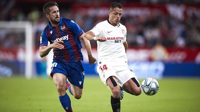 Le FC Séville repart de l'avant face à Levante