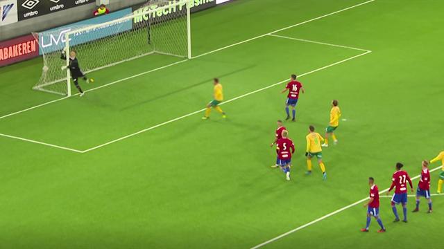 Worldy alert! Bend it like…goalkeeper Stefan Hagerup