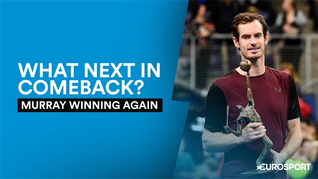 Murray's remarkable comeback continues