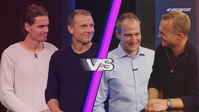 Fodboldquizzen, afsnit 4: Michael Gravgaard & Thomas Kristensen vs. Lars Jacobsen & Casper Høygård