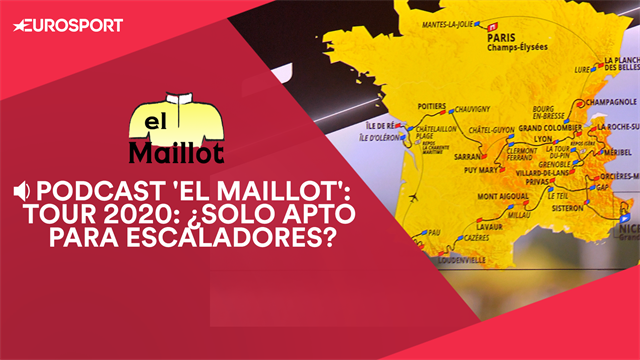 PODCAST 'El Maillot': Análisis del recorrido del Tour 2020, ¿solo apto para escaladores?