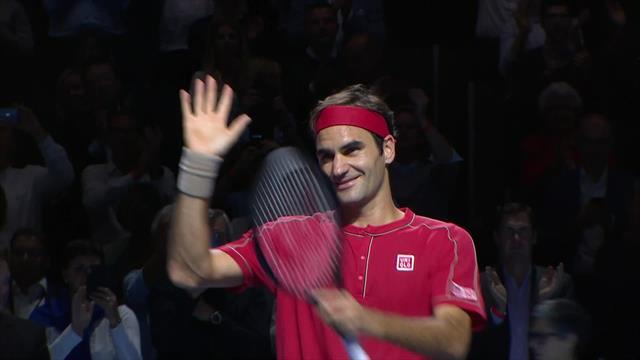 1500-й матч Федерера, в котором Маэстро восхитил игрой Гожовчика
