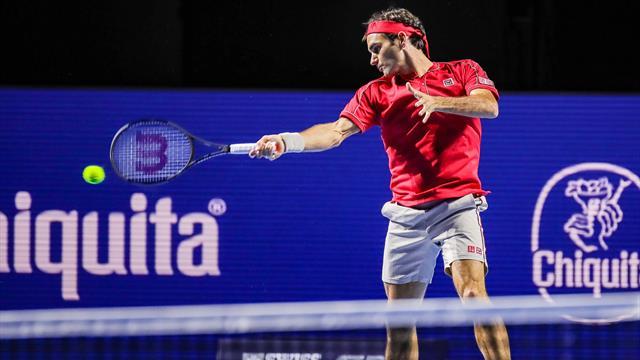 Federer gewinnt 1500. Spiel auf der Tour