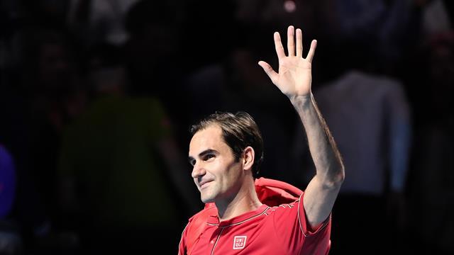 Federer, comme à la maison