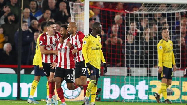 Mousset strike seals Sheffield United victory over Arsenal