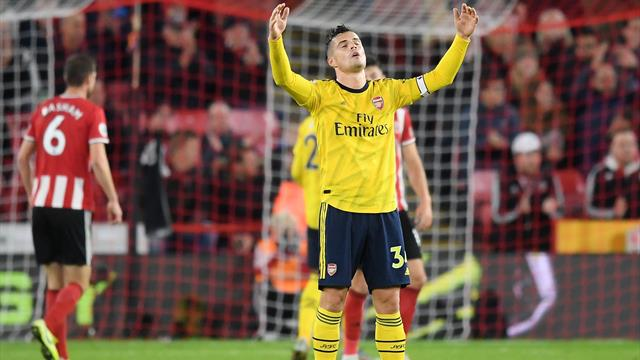 'It's bulls***' - Xhaka hits back at Evra's 'babies' comment