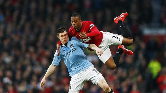Id rather face Messi than Milner - Evra