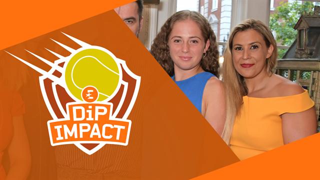 Bartoli-Ostapenko, le tandem de fin d'année : Revivez DiP Impact