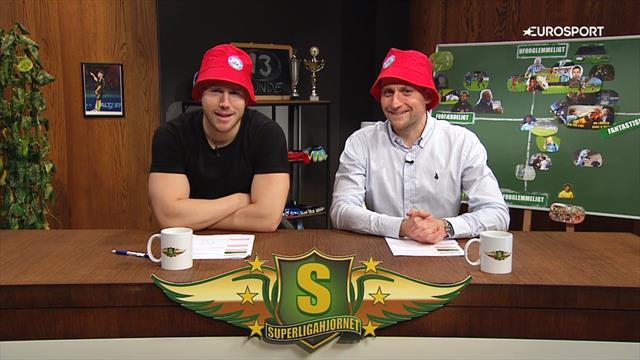 SuperligaHjørnet med Simo & Høygård, 13. runde